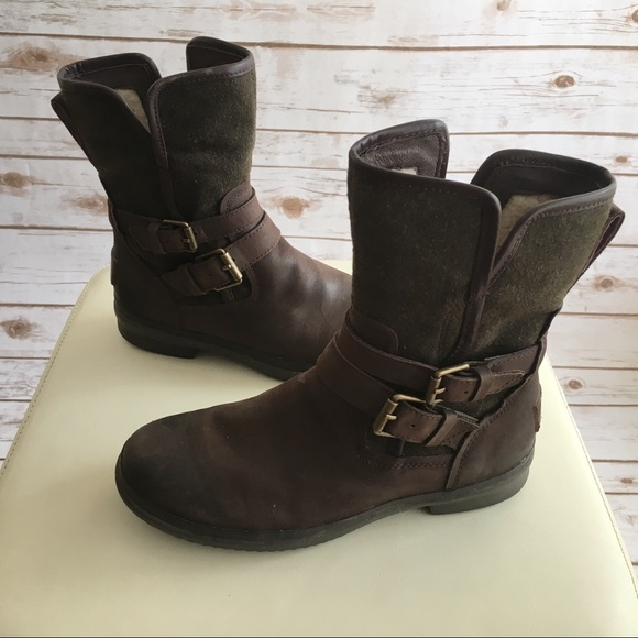 4f7db91c8f7 UGG • 'Simmens' Waterproof Leather Boot